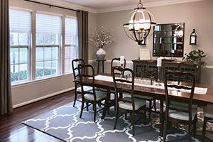 Jenna Nicole Interiors - Dining room after for Tuscan Blog