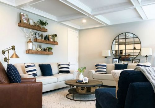 Family Room Design-After